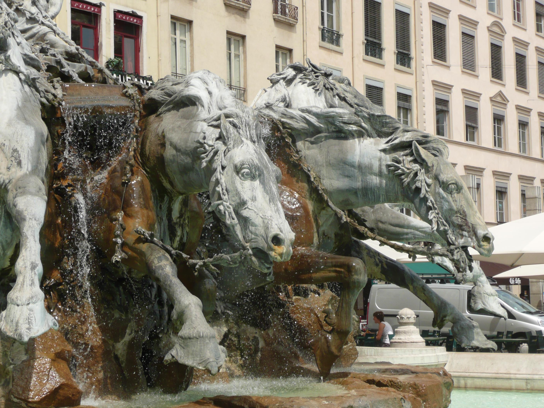 Fontaine Bartholdi à Lyon