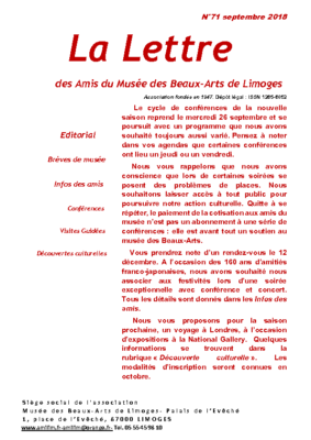 lettres 71