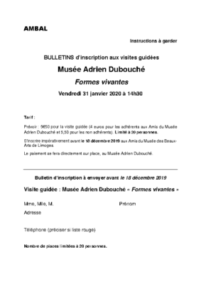 bulletin Adrien Dubouché